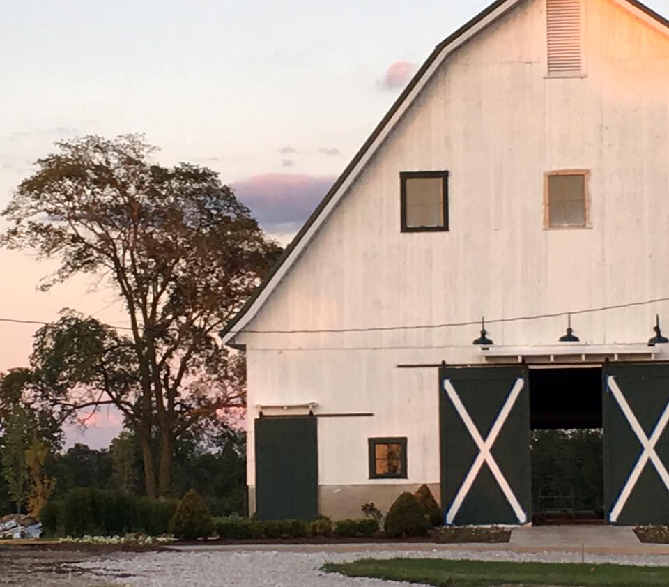Sunset at Original Bliss Barn